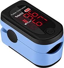 Pulse <b>Oximeter</b>, ATMOKO LED <b>Digital Finger</b> Pulse <b>Oximeter</b> ...