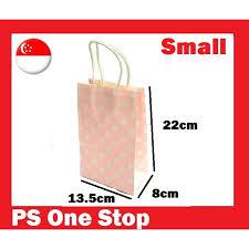 [<b>20pcs Small</b> ] Polka Dot Light Pink Paper Bag - Birthday Goodie <b>Gift</b> ...