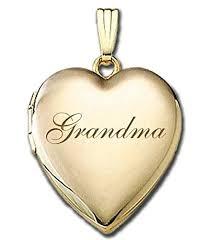 PicturesOnGold.com Solid 14K Yellow Gold Grandma ... - Amazon.com