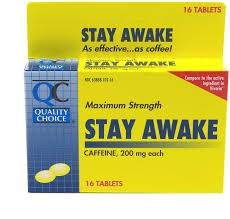 quality choice maximum strength stay awake tablets 16 tabs 12 pk