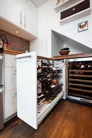 pullout wine rack wine storage idea wine coller space saving wine furniture box version modern wine cellar furniture