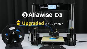 <b>Alfawise EX8 Upgraded DIY</b> 3D Printer - YouTube