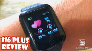 <b>116 PLUS</b> SMARTWATCH/ BRACELET| REVIEW | ENGLISH ...