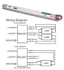 ft36w 2g11 ballast t5 electronic fluorescent 1 or 2 lamp 120v 277v ft36w 2g11 ballast wiring diagram