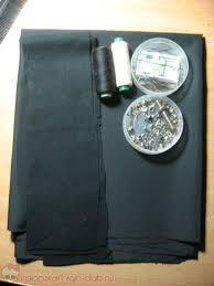 Длинный чёрный плащ и рваные штаны для парней <b>Monster High</b>