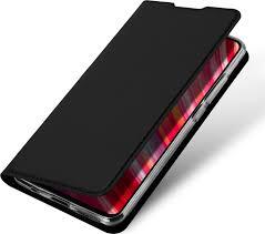 <b>Чехол книжка для Xiaomi Redmi Note</b> 8 Pro Skin Pro черный ...