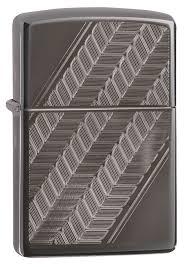 <b>Зажигалка ZIPPO Luxury Design</b> с покрытием Black Ice®, латунь ...