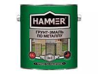 <b>Грунт эмаль по металлу hammer</b> черный 2,7кг купить в Москве ...