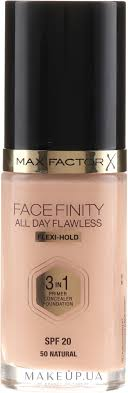 Max Factor <b>Facefinity All</b> Day Flawless 3-in-1 Foundation SPF 20 ...