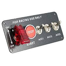KKmoon Racing Style Switch <b>12V Ignition Switch</b> Engine Start Push ...