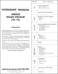isuzu pickup wiring diagram wiring diagrams online covers all 1990 isuzu pickup