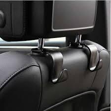 2pcs <b>Car Seat</b> Back Hooks Bags <b>Hanger Holder</b> Organizer ...