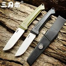 Новый <b>нож Sanrenmu</b> S708 с фиксированным лезвием 12C27 ...