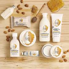 The <b>Body</b> Shop — Almond Milk & <b>Honey</b> |