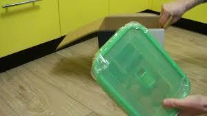 Распаковка Набор прямоугольных контейнеров <b>Luminarc Pure</b> ...