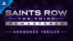 <b>Saints Row</b> The Third Remastered - Announce Trailer | PS4 - YouTube