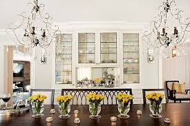 flower arrangements dining room table: view in gallery yellow flowers on the table in the dining room
