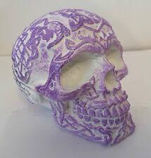 Unique Handmade Celtic <b>Gothic Skull</b> Head Ornaments Choice of 4 ...
