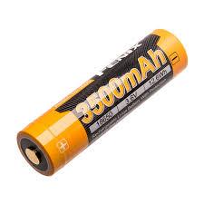 Fenix 18650 3.6 V, <b>3500 mAh Li</b>-<b>ion</b> Protected <b>Battery</b>