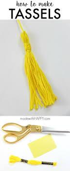 best ideas about graduation tassel graduation how to make a tassel