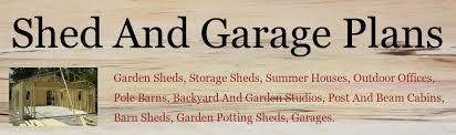 garden shed plans header image build home office header