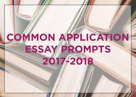 Common App Essay Prompts and How to Prepare for Them College Transitions