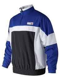 <b>NB Athletics Windbreaker</b> Pullover- Team Royal – Eames NW
