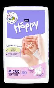 <b>Подгузники для недоношенных</b> детей <b>Bella</b> Baby Happy Micro ...