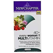 Buy New Chapter, <b>40</b>+ <b>Every Woman II</b>, Multivitamin, 96 Tablets ...