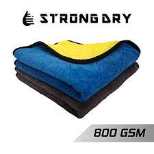 Strongdry <b>Coral Fleece</b> Microfiber Cloth 800 GSM for <b>Car</b> Cleaning ...