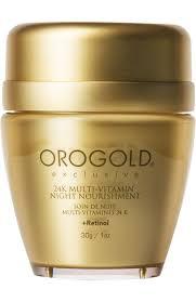 Ночной <b>крем для лица 24K</b> Multi Vitamin OROGOLD COSMETICS ...