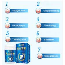 Натуральный отбеливающий порошок для зубов, <b>зубная щетка</b> ...