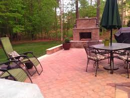 outdoor fireplace paver patio: we ended up going way over budget and even more over in terms of the time it took to complete but we are so incredibly happy with the finished product