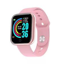 Y68 Smart Wristband Bluetooth <b>Smartwatch</b> Heart Rate Monitor ...