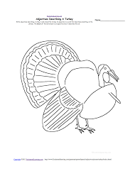 thanksgiving crafts worksheets and activities adjectives describing a turkey