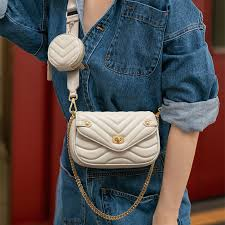 Small <b>PU Leather</b> Shoulder Bag For Women <b>2021 new</b> purse and ...