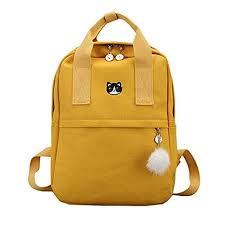 Preppy Girls <b>Women</b> Backpack School Teen Kawaii Casual <b>Canvas</b> ...
