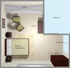 loft apartment top view of bedroom layout bedroom layout design