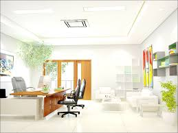 cool office colors white office interior ideas with brown accent on desk and door decorate with awesome color home office