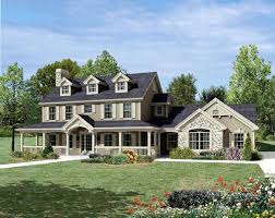 House Plan at FamilyHomePlans comCape Cod Colonial Country Farmhouse House Plan Elevation