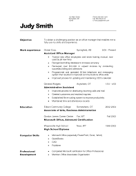 general resume objective best template collection general resume objective