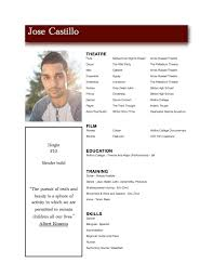 resume template for acting modeling best online resume builder resume template for acting modeling acting resume template daily actor child actor resume format acting resume