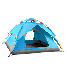TXZ 0002 <b>Double skin Tent Automatic</b> Spring loaded Frame Three ...