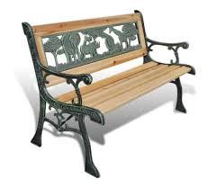 """vidaXL <b>Children Garden Bench</b> 31.5"""" Wood   vidaXL.com"""
