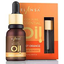 Buy Elansa 100% <b>Pure Sweet</b> Orange <b>Essential Oil</b>, 15ml Online at ...