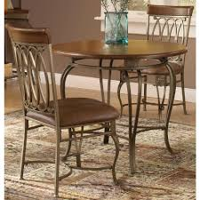 three piece dining set: montello  piece old steel dining set