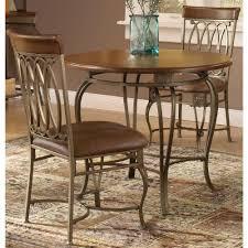 three piece dining set: montello  piece old steel dining set