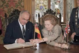 Wiedervereinigung: Margaret Thatchers Angst vor Deutschland ...