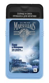 <b>Гель</b>-<b>шампунь для мужчин</b> LE PETIT MARSEILLAIS <b>Кедр</b> и ...