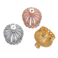 13*13mm Jewelry <b>Copper Micro Pave</b> Setting Charms Jewelry ...